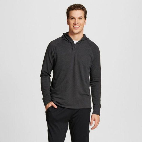 Champion C9 K9229 Mens Soft Touch Layer 2XL XXL Black Heather Gray NWT - Better Bath and Beauty