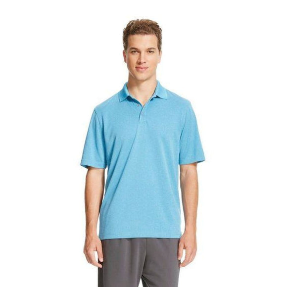 Champion C9 L8376 Men's Golf Polo Shirt SMALL Underwater Blue NWT - Better Bath and Beauty