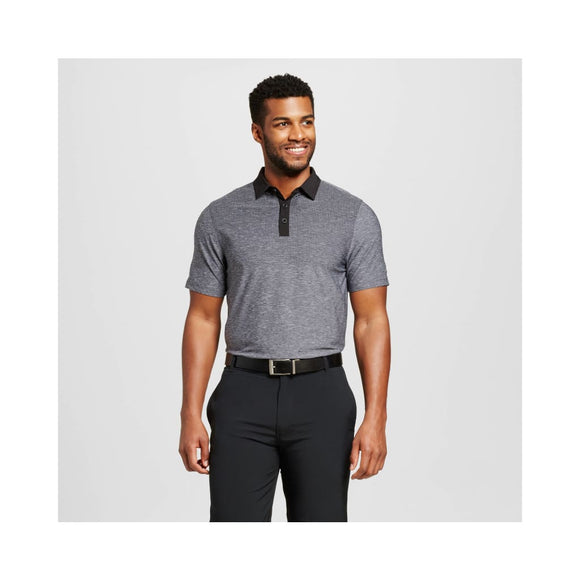 Champion C9 Men's Printed Golf Polo Shirt Size SMALL Charcoal Heather Gray - Better Bath and Beauty