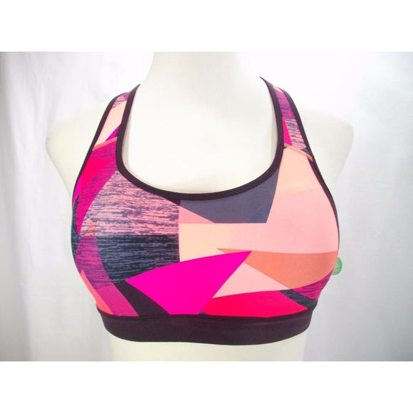 f937cce6584 Champion C9 N9678 Power Core Padded Racerback Sport Bra SMALL Papaya Geo  Print - Better Bath