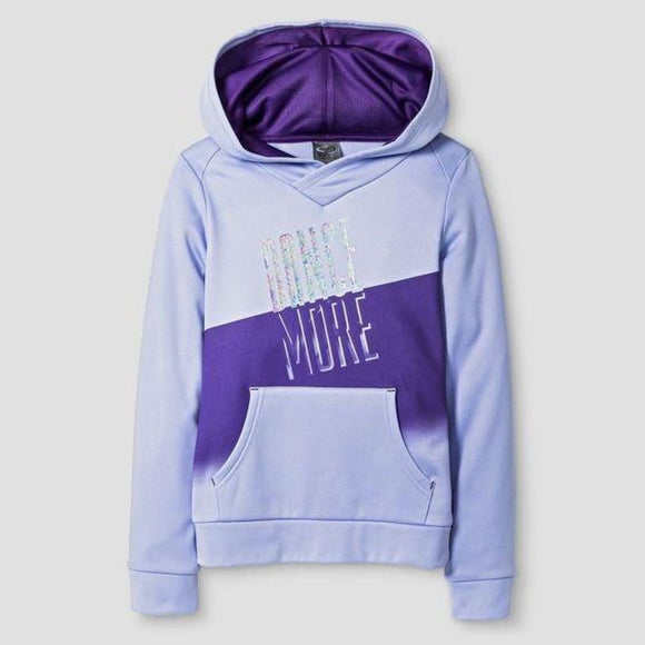 Champion C9 S9722 Girls Activewear Sweatshirt Purple M (7-8) Purple DANCE MORE - Better Bath and Beauty