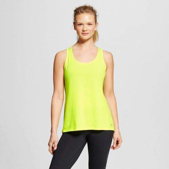 Champion C9 S9952 Womens Run Singlet X-LARGE Highlighter Yellow NWT - Better Bath and Beauty
