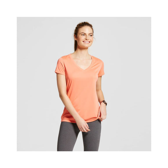 Champion C9 S9985 Women's Tech T-Shirt Size MEDIUM Ripe Papaya NWT - Better Bath and Beauty