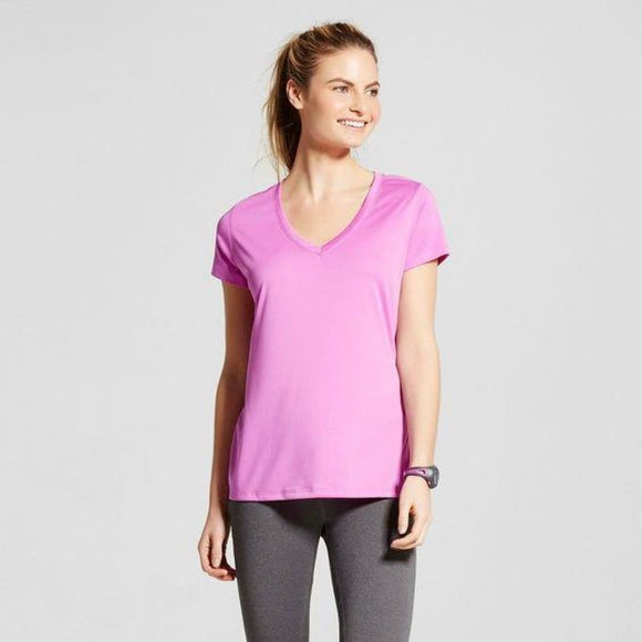 Champion C9 S9985 Women's Tech T-Shirt Size XS X-SMALL Aurora Purple NWT - Better Bath and Beauty