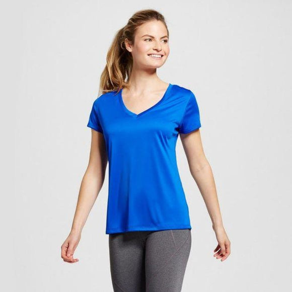 Champion C9 S9985 Women's Tech T-Shirt Size XS X-SMALL Flight Blue - Better Bath and Beauty