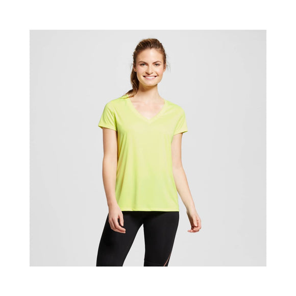 Champion C9 S9985 Women's Tech T-Shirt Size XS X-SMALL Washed Lime NWT - Better Bath and Beauty
