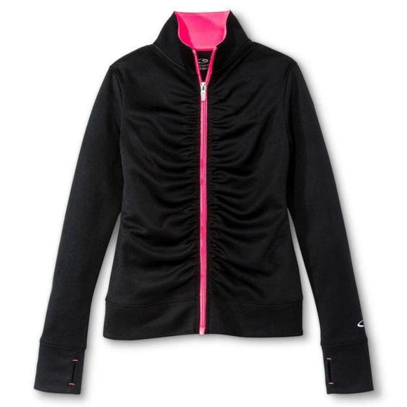 Champion C9 V9449 Girls Performance Jacket L (10-12) Black & Pink NWT - Better Bath and Beauty