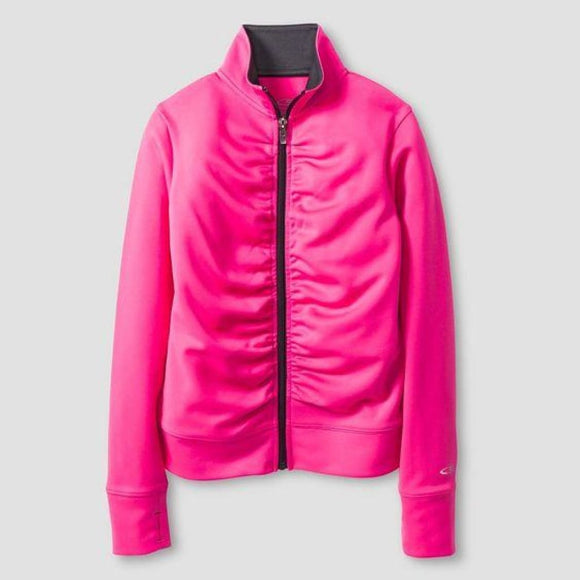 Champion C9 V9449 Girls Performance Jacket MEDIUM (7-8) Pinksicle Pink NWT - Better Bath and Beauty