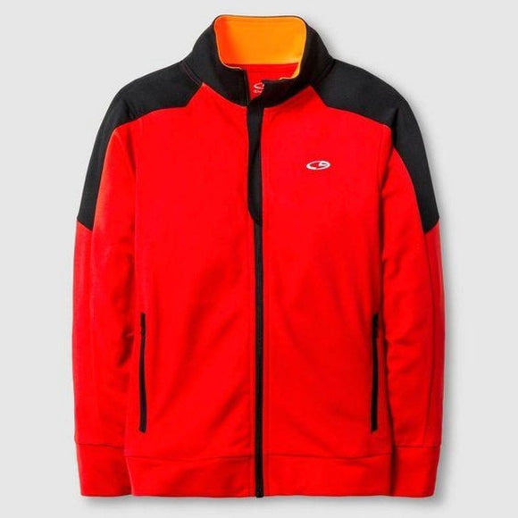 Champion C9 V9566 Boys Performance Full Zip Jacket XL X-LARGE (16-18) Red & Black NWT - Better Bath and Beauty