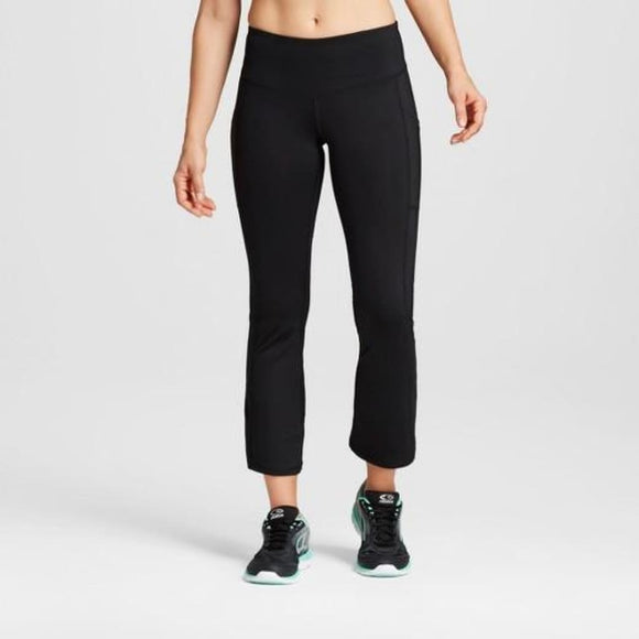 Champion C9 Womens Embrace Crop Flare Pants XS X-SMALL Black - Better Bath and Beauty