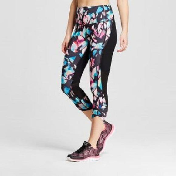 Champion C9 Womens Freedom High Waist Capri Leggings XS X-SMALL Multicolor - Better Bath and Beauty