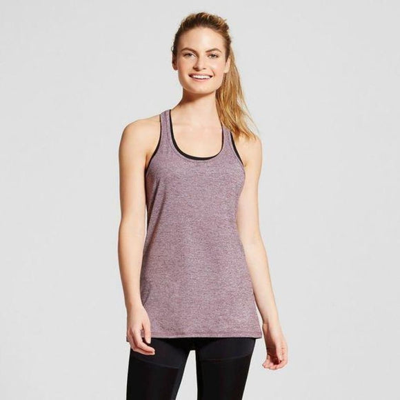 Champion C9 Womens Performance Long Tank Top XL X-LARGE Dark Berry Purple NWT - Better Bath and Beauty