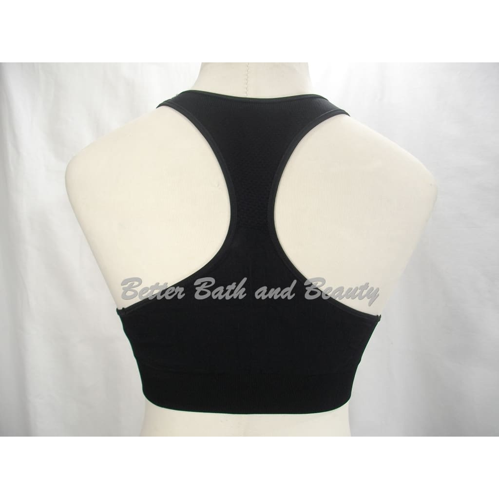c88519977577c ... Champion N9069 Seamless Racerback Wire Free Sports Bra LARGE Black NWT  - Better Bath and Beauty