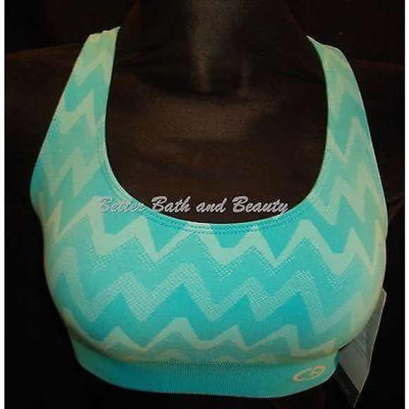 Champion N9525 Duo Dry Max Racerback Wire Free Sports Bra XS X-SMALL Blue NWT - Better Bath and Beauty