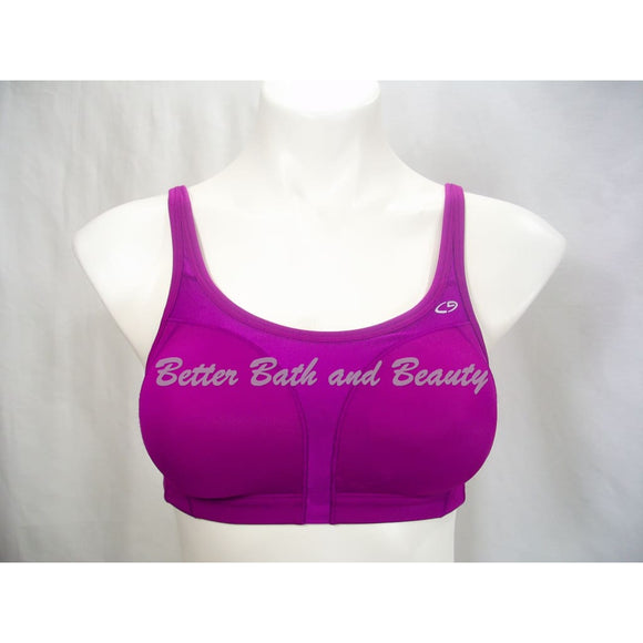 Champion N9562 9562 Wire Free Convertible Sports Bra 34B Fuschia Purple - Better Bath and Beauty