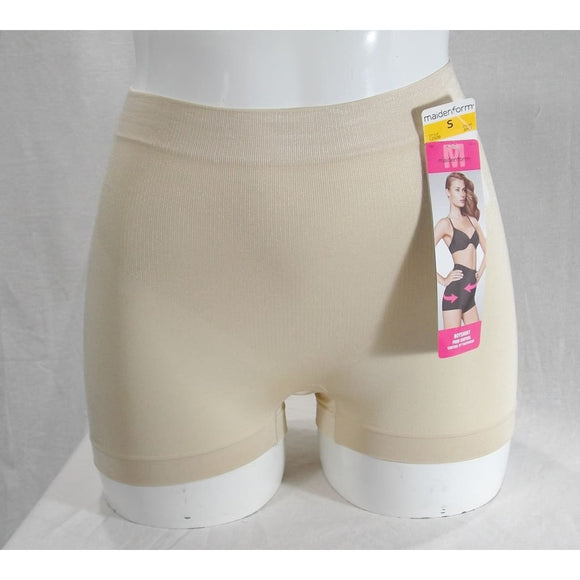 DISCONTINUED Maidenform 12508 Shiny Collection Boyshort Shaper Panty SIZE SMALL Nude NWT - Better Bath and Beauty