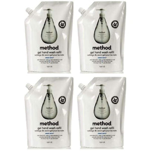 FOUR Method Gel Hand Wash Soap Refills SWEET WATER 136oz TOTAL - Better Bath and Beauty