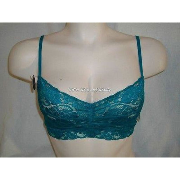 Gilligan O'Malley Semi Sheer Wire Free Cami Camisole X-SMALL Teal NWT - Better Bath and Beauty
