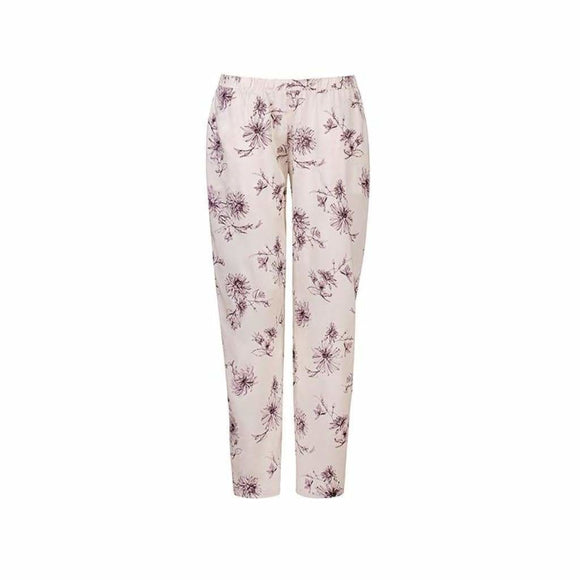 HANRO Camille Long Woven Pajama Pant SIZE MEDIUM Fragile Flowers Print NWT - Better Bath and Beauty