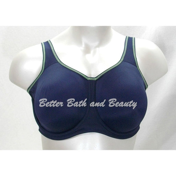 IRREGULAR Wacoal 855170 Medium Control Underwire Sports Bra 40G Navy Blue - Better Bath and Beauty
