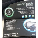Isotonoer MEN SmarTouch Touch Screen Compatible Gloves Third Finger LARGE Black - Better Bath and Beauty