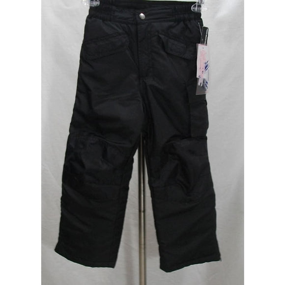 iXtreme KIDS BOYS Water & Wind Resistant Snow Ski Pants Size 4 Black NWT - Better Bath and Beauty