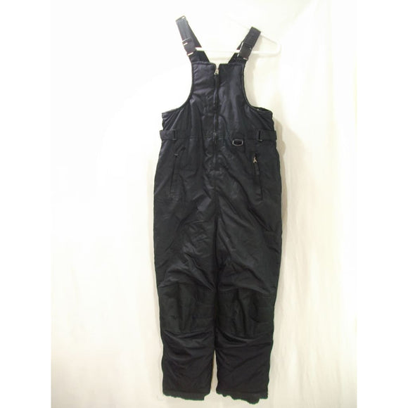 iXtreme Outfitters BOYS Water & Wind Resistant Snow Suit Bibs Size 8/10 Black NWT - Better Bath and Beauty