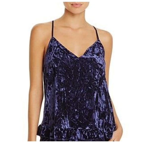 Josie by Natori Velvet Crush Cami SIZE MEDIUM Blue NWT - Better Bath and Beauty