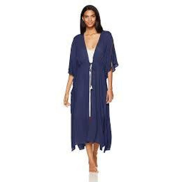 Josie Sweet Melody Wrap Robe SIZE SMALL Midnight Navy NWT - Better Bath and Beauty