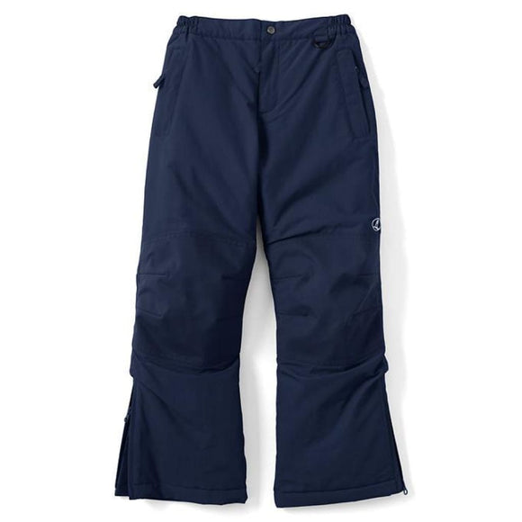 Lands End 418918 Boys Waterproof Squall Snowpants Ski Snow Pants Size 4 Regiment Navy Blue NWT - Better Bath and Beauty