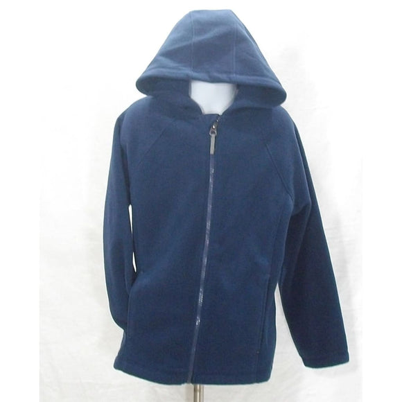 Lands End 432211 Little Boys Fleece Hoodie Medium 5-6 Regiment Navy NWT - Better Bath and Beauty