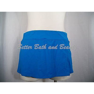 Land's Lands End Beach Living Mini SwimMini Swim Skirt 10 Turquoise Blue 360767 - Better Bath and Beauty