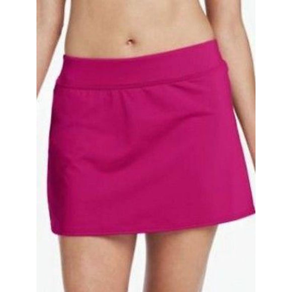 Lands End Land's End Beach Living SwimMini w/Tummy Control 6 Deep Pink 347223 - Better Bath and Beauty