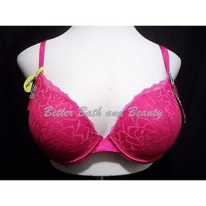 Lily of France 2131101 Soiree Extreme Ego Boost Tailored UW Bra 36C Dark Pink - Better Bath and Beauty