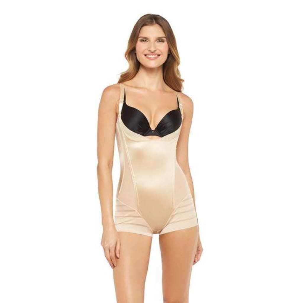 7f8e3be45e Maidenform 00269 269 Self Expressions Women s WYOB Romper XL X-LARGE Nude  NWT - Better ...