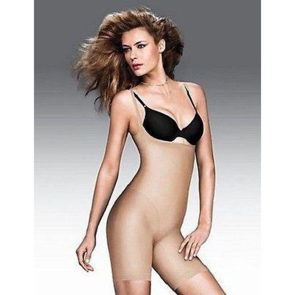 Maidenform 12466 Control It WYOB Singlet Torsette MEDIUM Nude NWT - Better Bath and Beauty