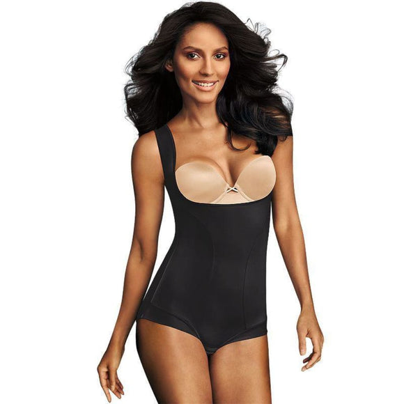 Maidenform 1856 Dream Wear Your Own Bra Torsette Romper 2XL XXL Black NWT - Better Bath and Beauty