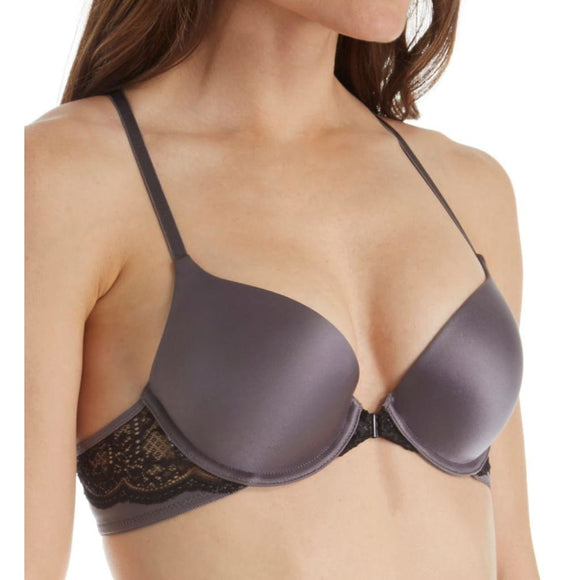 Maidenform SE6574 Self Expressions Custom Lift Racerback Bra 34A Carbon Grey NWT - Better Bath and Beauty