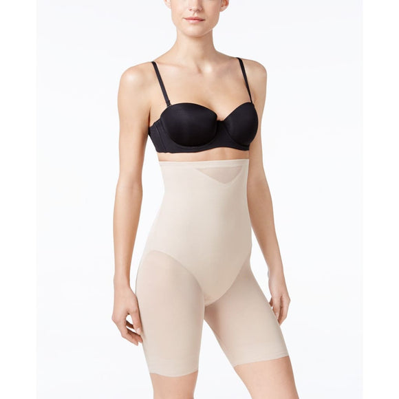 Miraclesuit 2789 Extra Firm Tummy-Control Sheer Trim Thigh Slimmer LARGE Nude NWT - Better Bath and Beauty