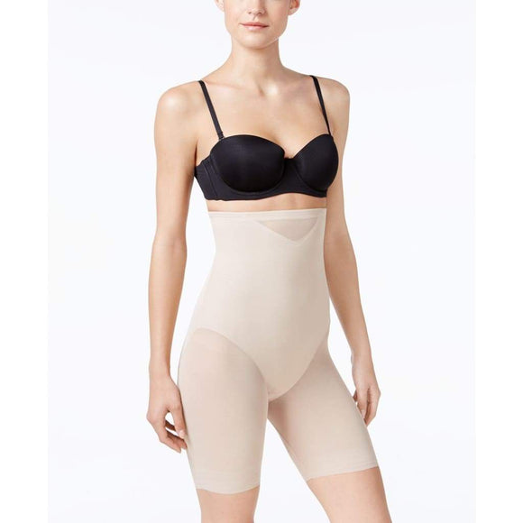Miraclesuit 2789 Extra Firm Tummy-Control Sheer Trim Thigh Slimmer MEDIUM Nude NWT - Better Bath and Beauty