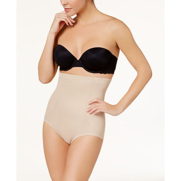 Miraclesuit 2915 Extra Firm Tummy-Control Shape Away High Waist Brief LARGE Nude - Better Bath and Beauty