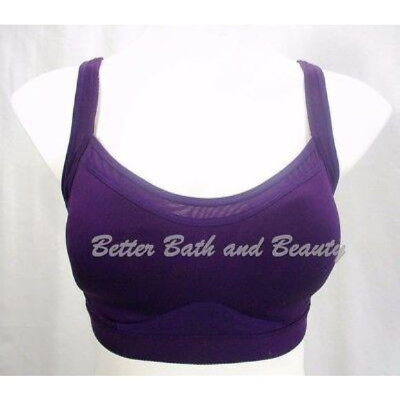 Old Navy Active Maximum Support Wire Free Convertible Sports Bra 34D Purple - Better Bath and Beauty
