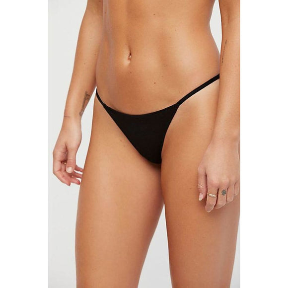 Only Hearts 51445 So Fine String Bikini SMALL Black NWT - Better Bath and Beauty