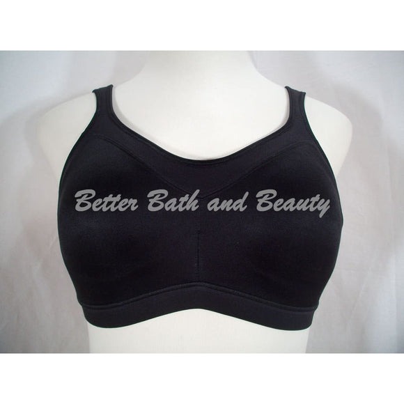 Playtex 4159 18 Hour Active Lifestyle Sports Bra 42B Black - Better Bath and Beauty