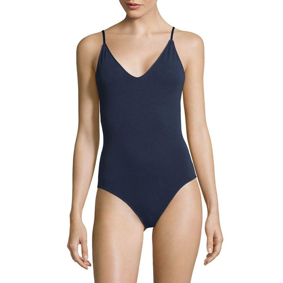 Sam Edelman Strappy Back Bodysuit SIZE SMALL Navy Blue NWT - Better Bath and Beauty