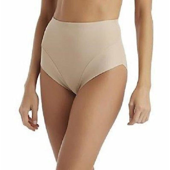 Sears Slim Shape Comfort Leg Waistline Brief MEDIUM Nude NWT - Better Bath and Beauty