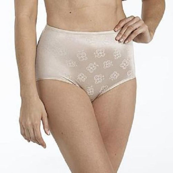 566568b0e1b Sears Slim Shape Floral Deluster Brief X-LARGE Nude NWOT - Better Bath and  Beauty