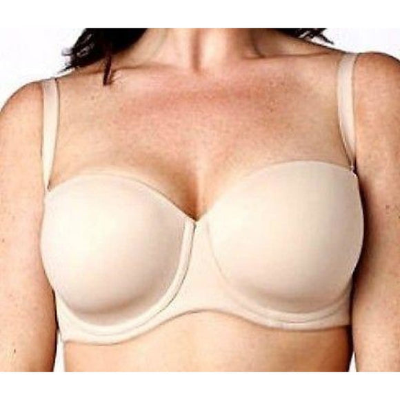 Serenada Convertible Strapless Underwire Bra 40DD Rugby Tan (Nude) NEW WITH TAGS - Better Bath and Beauty