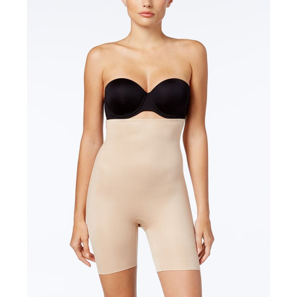 Spanx 10132R Power Conceal-Her High-Waisted Mid-Thigh Short XL Nude - Better Bath and Beauty