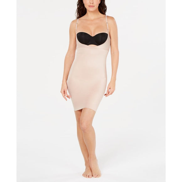 Spanx 10178R SmartGrip Open-Bust Full Slip SMALL Nude NWT - Better Bath and Beauty